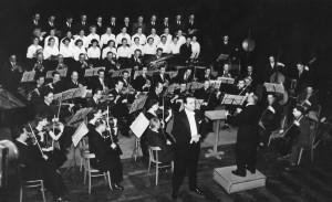 Dyrygent: Olgierd Straszyński, solista: Edmund Kosowski (1958)