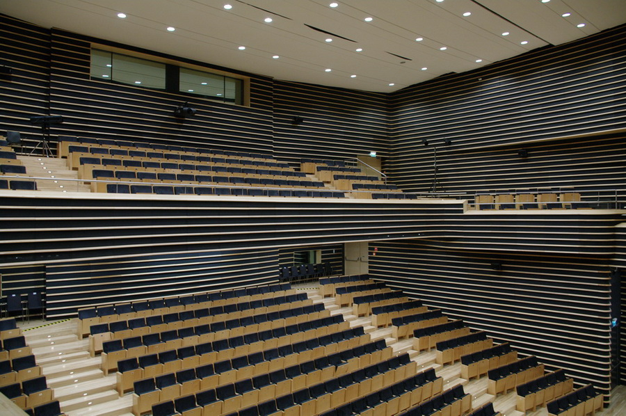 Sala koncertowa - miejsca na parterze i balkonie