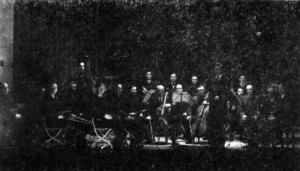 Orkiestra podczas swojego pierwszego występu (1946)